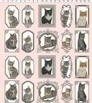 Cats The Way I Like It from Clothworks 2137 Colour 41