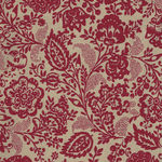 Chafarcani By French General For Moda Fabrics M13850-21 Taupe/Red