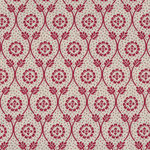 Chafarcani By French General For Moda Fabrics M13852-12 Cream/Red