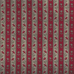 Chafarcani By French General For Moda Fabrics M13854-17  Deep Taupe/Red