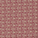 Chafarcani By French General For Moda Fabrics M13854-19  Deep Cream/Red