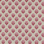 Chafarcani By French General For Moda Fabrics M13856-1  Lighter Red/Cream/Pink
