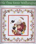 "Christmas Applique Wall hanging ""Old Time Santa"""