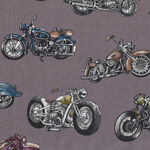 Classic Ride From Nutex Fabrics 8900 Col.1 Vintage Motorbike.