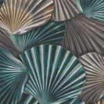 Coastal Drift by Hoffman Fabrics Seashells P7622 - Seaside/Silver