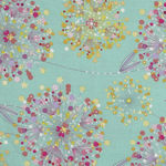 Confetti Blossoms from Quilting Treasures 1649-26234-H Aqua