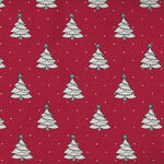 Country Christmas By Bunny Hill Designs For Moda Fabrics M2961 14 Red.