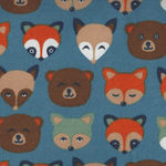 Cubby Bear Flannel by Whistler Studios 51369-4 Blue