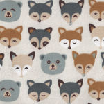 Cubby Bear Flannel by Whistler Studios 51369-5 Pale Cream