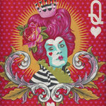 Curiouser And Curiouser By Tula Pink PWTP 160 The Red Queen Colour Wonder.