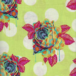 Curiouser And Curiouser By Tula Pink PWTP 161 Painted Roses Colour Sugar.