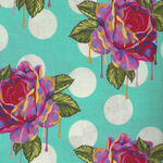 Curiouser And Curiouser By Tula Pink PWTP 161 Painted Roses Colour Wonder.