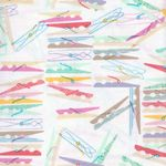 DEAR STELLA COTTON FABRIC PEGS