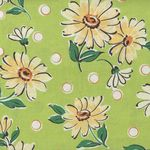 Daisies by Suzuko Koseki for Yuwa Live Life Collection SZ826224 Colour D