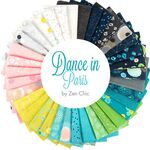 Dance In Paris Layer Cake Precut By Brigitte Heitland Zen Chic For Moda MM 1740L