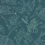 Dashwood Studios Aviary by Bethan Janine Avia 1724 Col.1 Teal.