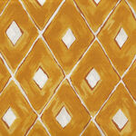 Diamonds from Quiltgate Japan GF5990-14E Yellow.