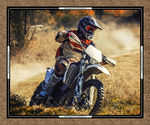 Dirt Bikes from Burrangong Creek & Kennard&Kennard Digital Panel 7091C