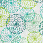 Do The Math from Nancy Rink for Marcus Fabrics R15-0549-0546 Circles On White