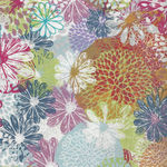 Doodle Blossoms by In The Beginning Fabrics 2193 2DB Color 1