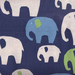 Elephants by KOKKA Fabrics PA-38400 401D32