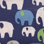 Elephants by KOKKA Fabrics PA-38400 401D32