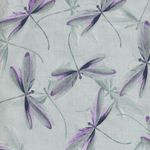 Essence Of Pearl by Maria Kalinowski For Kanvas Fabrics Pattern Dragonfly Dream