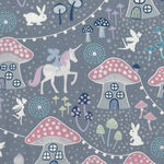 Fairy Nights by Lewis and Irene Cotton Fabric D# A403 Colour 1 Glow In The Dark