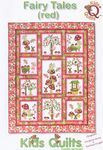 Fairy Tales (Red) by Kids Quilts QLT033