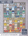 Fancy Forest Animal Sampler Quilt Pattern by Elizabeth Hartman