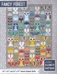 Fancy Forest Animal Sampler Patchwork Quilt Pattern by Elizabeth Hartman.