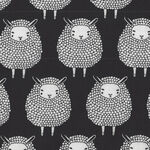 Farm Charm By Gingiber For Moda Fabrics M48291 12 Sheep Black and White.