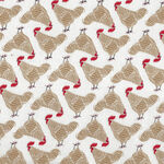 Farm Charm from Gingiber for Moda Fabric Cotton Quilting M48292-21 Chickens.