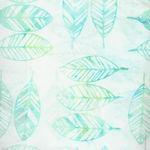 Fern Textiles Batik Code 314Q-7 Aqua/Lime