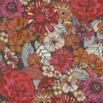 Flannel By Sharon Holland For Art Gallery Fabrics F-73300 Fleuron Haven..