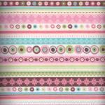"Flannel Fabric ""Blossom"" by Northcott"