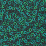Floral Fantasia for P&B Textiles Design 03061 Col.T  TEAL