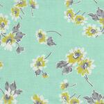 Flour Garden by Linzee McCray for Moda Fabrics M23321 14 Duck Egg.
