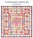 Flower Basket Medallion Quilt Pattern from Kim McLean