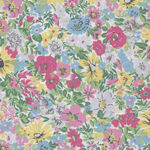 Flower Show Spring by Liberty Cotton  Malvern Meadow-5726A Normal cotton 44""