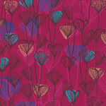 Forest Fancies by Lisa Kirkbride For P&B Textiles 00321 Pink.