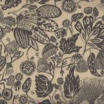 Free Spirit Floral Waterfall PWSN003.8TANX Woodcut