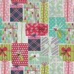 Free Spirit Presents Fa La La by Maude Asbury PWMA014 Patt. From Santa Multi.