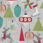 Free Spirit Presents Fa La La by Maude Asbury PWMA015 Patt. Bells and Baubles Gr