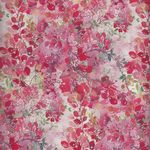 """French Stof Feuillu Tle Provence 64""""(160cms) Wide Cotton Fabric LS8214001/D"""