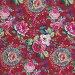 "French Stof Linette Rose 64""(160cms) Wide Cotton Fabric 86864058"