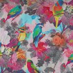 """French Stof Watercolour 64""""(160cms) Wide Cotton Fabric LS849500/DP Multico"""