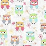 Friendship Owls from Benartex C8949 8030 color 909