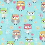 Friendship Owls from Benartex C8949 8030 color 984