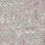 """Gallymoggers Liberty Of London Tana Lawn Width 53"""" 03635177G Color Mauve.."""